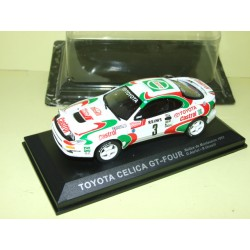 TOYOTA CELICA GT 4 RALLYE DE MONTE CARLO 1993 AURIOL ALTAYA 1:43