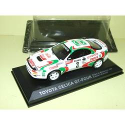 TOYOTA CELICA GT 4 RALLYE DE MONTE CARLO 1993 D. AURIOL ALTAYA 1:43 sous coque