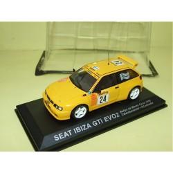 SEAT IBIZA GTi EVO2 RALLYE MONTE CARLO 1999 GARDEMEISTER ALTAYA 1:43