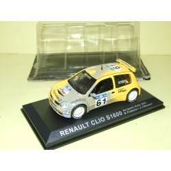 RENAULT CLIO S1600 RALLYE D'ACROPOLE 2003 TIRABESSI ALTAYA 1:43 sous coque