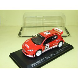 PEUGEOT 206 WRC RALLY MONTE CARLO 2003 R. BURNS ALTAYA 1:43 sous coque