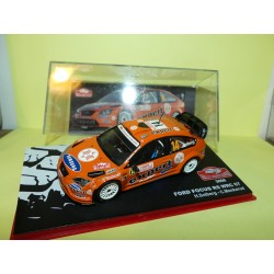 FORD FOCUS RS WRC 07 RALLYE MONTE CARLO 2008 SOLBERG ALTAYA 1:43 5ème