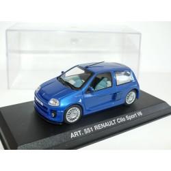 RENAULT CLIO SPORT V6 I Bleu DETAILCARS 551 1:43