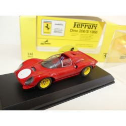 FERRARI DINO 206 S PROVA Rouge ART MODEL ART029 1:43
