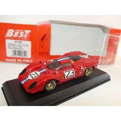 FERRARI 312 P N°23 COUPE DAYTONA 1970 BEST 9165 1:43
