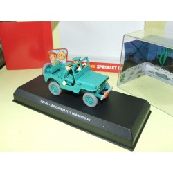 JEEP MB SPIROU ET FANTASIO ATLAS 1:43