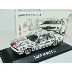 BMW 635 CSi 1982-87 Gr A MINICHAMPS 1:43 défaut