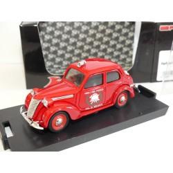 FIAT 1100 E POMPIERS VIGILI DEL FUGO DI BRUNICO 1947 BRUMM R181B 1:43