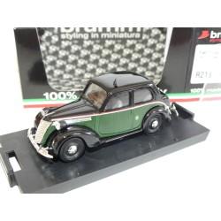 FIAT 1100 E TAXI DE MILAN 1949 BRUMM R215 1:43