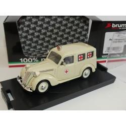 FIAT 1100 E AMBULANCE CROCE ROSSA 1947 BRUMM R179 1:43