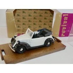 FIAT 508 C CABRIOLET Blanc 1937-39 BRUMM R84 1:43