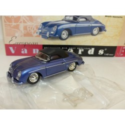 PORSCHE 356 SPEEDSTER SOFT TOP Bleu  VANGUARDS VA07900 1:43