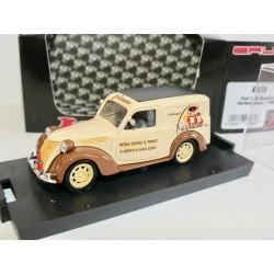 FIAT 1100 E FOURGONNETTE 1950 FERRERO CUNEO BRUMM R373 1:43