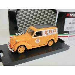 FIAT 1100 E FOURGONNETTE 1950 ERG GENEVE BRUMM R375 1:43