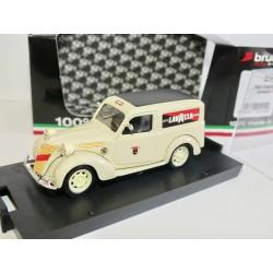 FIAT 1100 E FOURGONNETTE 1950 LAVAZZA BRUMM R346 1:43