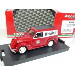FIAT 1100 E FOURGONNETTE 1950 MOBILOIL BRUMM R344B 1:43