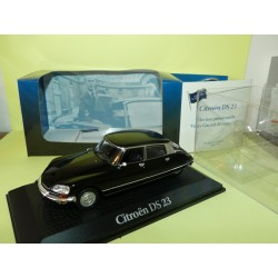 CITROEN DS 23 GISCARD D'ESTAING 1974 PRESIDENTIELLE ATLAS 1:43 Chef d'état