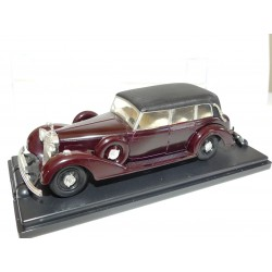 MERCEDES 770 K PULMAN DECAPOTABLE Bordeaux 1938 Gris RIO 22 1:43