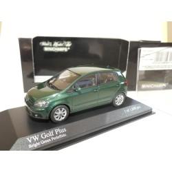 VW GOLF PLUS 2004 Vert Foncé MINICHAMPS 1:43