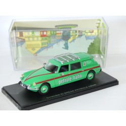 CITROEN ID BREAK PETROLE HAHN NOREV pour ATLAS 1:43