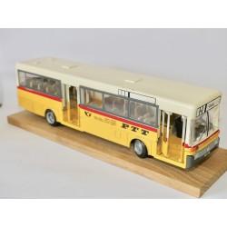 CAR BUS MERCEDES O 405 PTT POSTE SUISSE NZG N°255 1:50 défaut