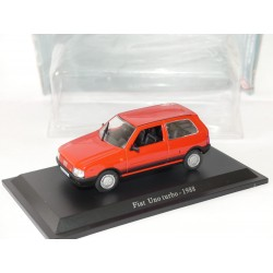 FIAT UNO TURBO 1988 Rouge NOREV Presse 1:43 sous blister