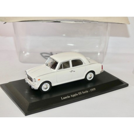 LANCIA APPIA III SERIE 1959 Blanc NOREV Presse 1:43 sous blister