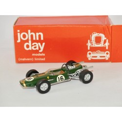 BRABHAM REPCO BT19 GP HOLLANDE 1966 BRABHAM KIT JOHN DAY 1:43 défaut