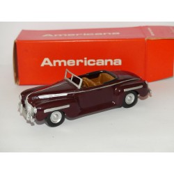 DODGE CONVERTIBLE 1940 Bordeaux AMERICANA 1:43