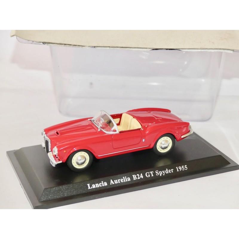LANCIA AURELIA B24 GT SPYDER 1955 Rouge NOREV Presse 1:43 sous blister