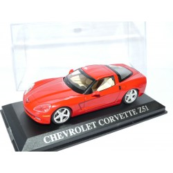 CHEVROLET CORVETTE Z51 Rouge ALTAYA 1:43