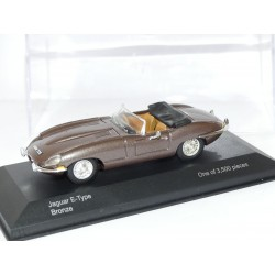 JAGUAR TYPE E CABRIOLET Bronze VANGUARDS 1:43