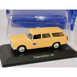 PEUGEOT 404 BREAK 1963 PTT LA POSTE UNIVERSAL HOBBIES  1:43 blister
