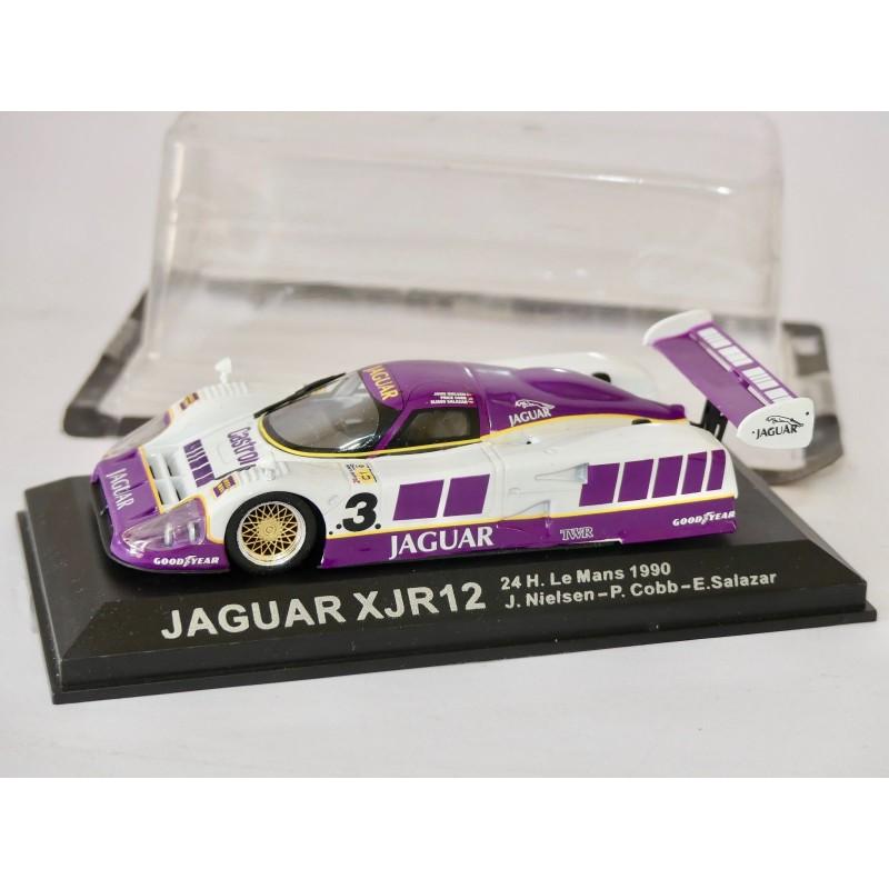 JAGUAR XJR12 N°3 LE MANS 1990 ALTAYA 1:43 Arrivée 1er sous coque