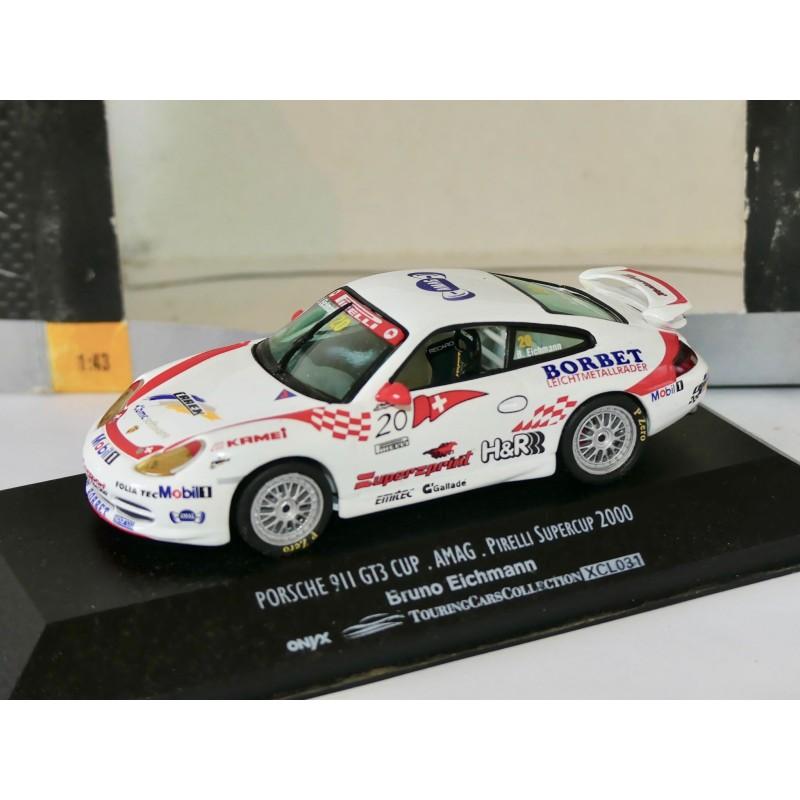 PORSCHE 911 GT3 CUP SUPERCUP 2000 B. EICHMANN ONYX XCL031 1:43