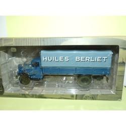 CAMION D'AUTREFOIS N°028 BERLIET GDR 7W Huiles Berliet 1948 ALTAYA 1:43