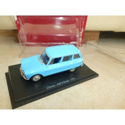 CITROEN AMI 8 BREAK 1979 Bleu UNIVERSAL HOBBIES 1:43 sous blister