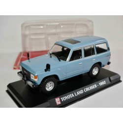 TOYOTA LAND CRUISER 1982 Bleu AUTO PLUS 1:43