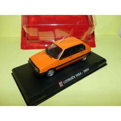CITROEN VISA II CLUB 1981 Orange AUTO PLUS 1:43