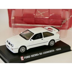 FORD SIERRA RS COSWORTH 1986 Blanc AUTO PLUS 1:43