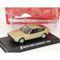 MATRA SIMCA BAGHEERA 1975 Marron AUTO PLUS 1:43