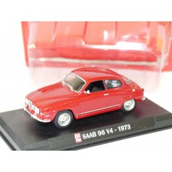 SAAB 96 V4 1973 Rouge AUTO PLUS 1:43