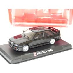 BMW M3 1988 Noir AUTO PLUS 1:43