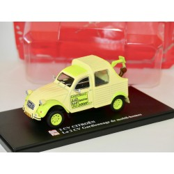 CITROEN 2CV N°064 GARDIENNAGE DE MOBIL HOME AUTO PLUS 1:43