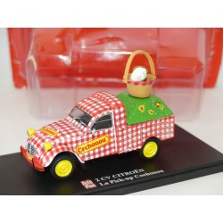 CITROEN 2CV N°006 PICK UP COCHONOU AUTO PLUS 1:43