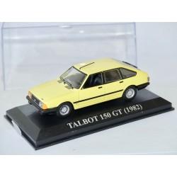 TALBOT 150 GT 1982 Jaune ALTAYA 1:43