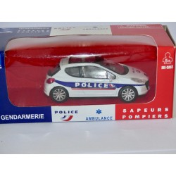 PEUGEOT 207 POLICE NEW RAY 1:43