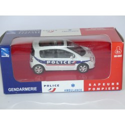 RENAULT MODUS POLICE NEW RAY 1:43