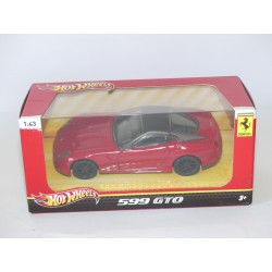 FERRARI 599 GTO Rouge HOTWHEELS 1:43 boite carton