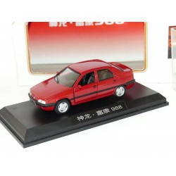 CITROEN ZX avec coffre 988 Rouge modele chinois DONGFENG 1:43